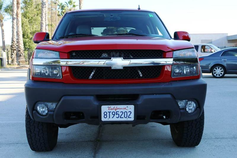 2006 CHEVROLET AVALANCHE LS 2500 4DR CREW CAB 4WD SB red 4wd selector - electronic 4wd type - on