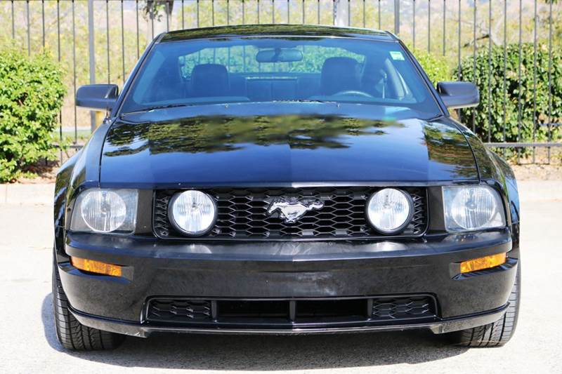 2005 FORD MUSTANG GT PREMIUM 2DR COUPE black abs - 4-wheel center console - front console with s