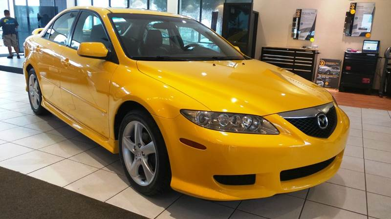 2003 MAZDA MAZDA6 S 4DR SEDAN V6 yello this beautiful 2003 mazda 6 has just arrived on our showro