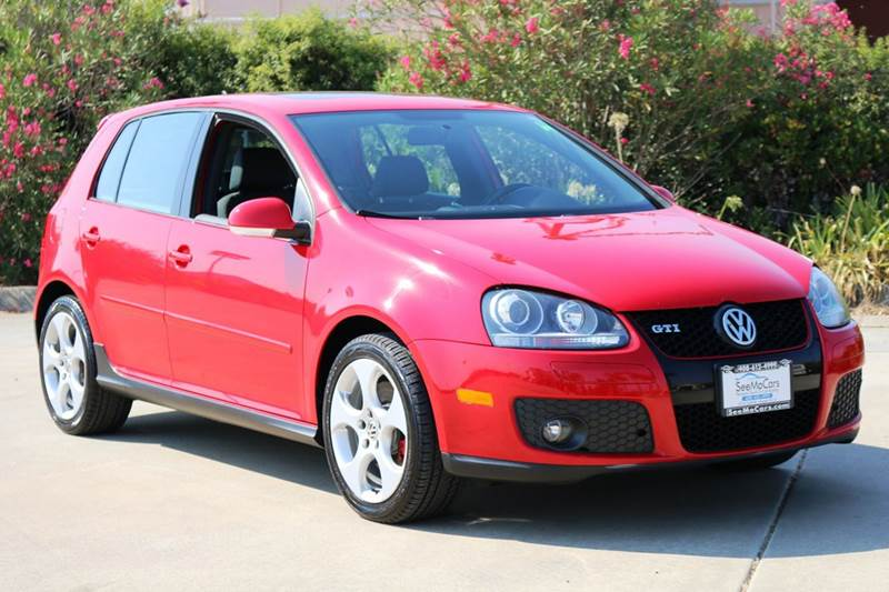 2007 VOLKSWAGEN GTI BASE 4DR HATCHBACK 2L I4 6M red 2-stage unlocking doors abs - 4-wheel act
