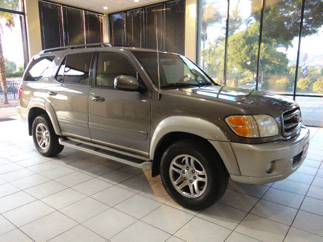 2003 TOYOTA SEQUOIA SR5 4DR SUV gray abs - 4-wheel antenna type - power anti-theft system - ala