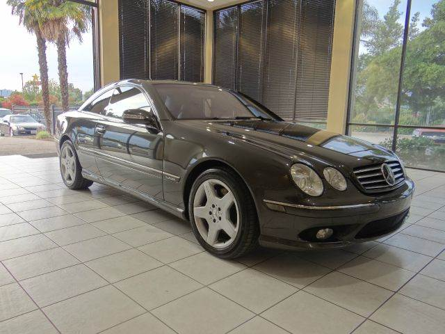 2003 MERCEDES-BENZ CL-CLASS CL600 2DR COUPE gray abs - 4-wheel anti-theft system - alarm cd cha