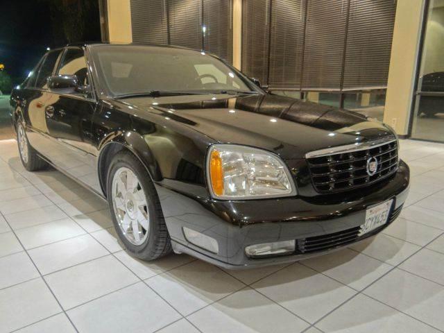 2005 CADILLAC DEVILLE DTS 4DR SEDAN black abs - 4-wheel active suspension air suspension - rear
