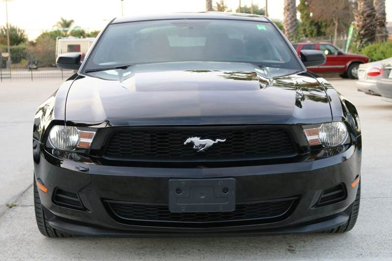 2011 FORD MUSTANG V6 2DR COUPE black 2-stage unlocking doors abs - 4-wheel airbag deactivation
