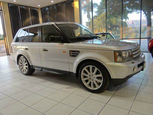2006 LAND ROVER RANGE ROVER SPORT SUPERCHARGED 4DR SUV 4WD silver 4wd type - full time abs - 4-w