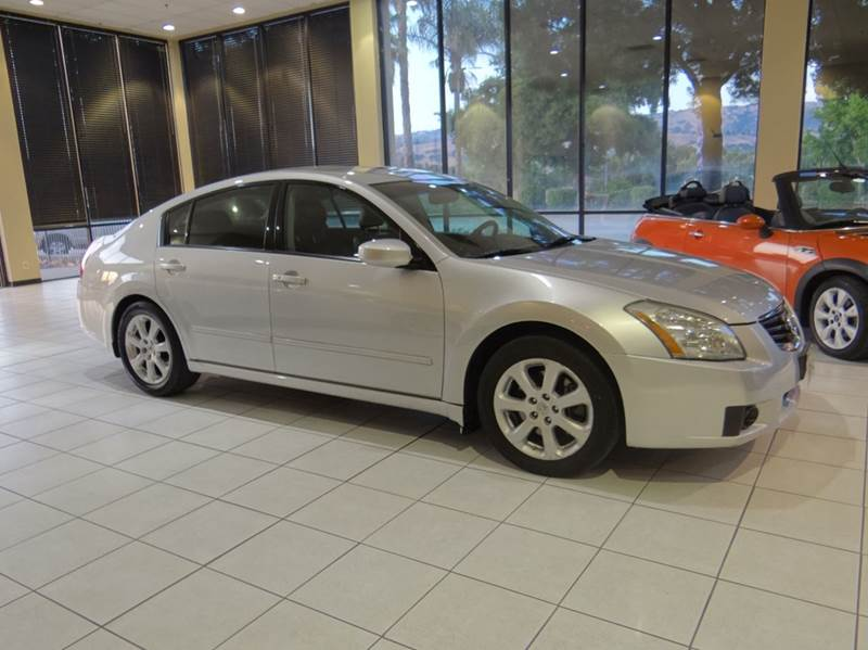 2007 NISSAN MAXIMA 35 SL 4DR SEDAN silver 2-stage unlocking - remote abs - 4-wheel air filtrat
