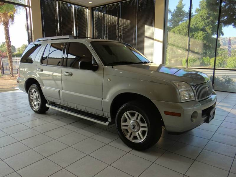 2005 MERCURY MOUNTAINEER BASE 4DR SUV silver abs - 4-wheel axle ratio - 355 center console - f