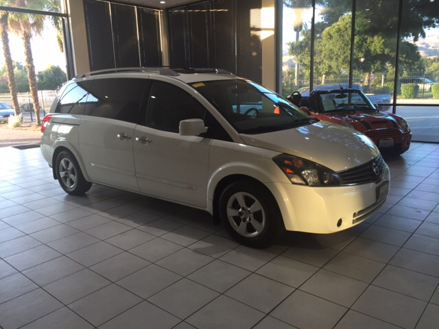 2007 NISSAN QUEST 35 S 4DR MINI VAN white 2-stage unlocking - remote abs - 4-wheel airbag deac