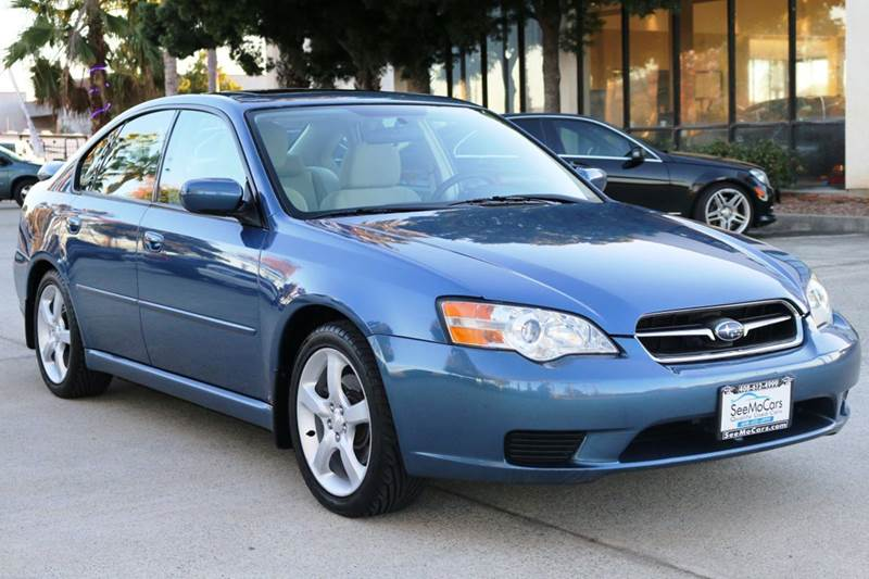 2007 SUBARU LEGACY 25I AWD 4DR SEDAN 25L F4 4A blue this 2007 subaru legacy is in wonderful c