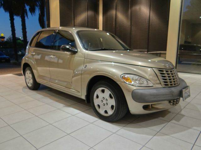 2003 CHRYSLER PT CRUISER BASE 4DR WAGON champagne center console clock front air conditioning