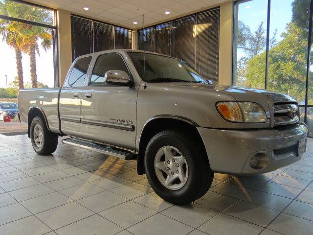 2003 TOYOTA TUNDRA SR5 4DR ACCESS CAB RWD STEPSIDE silver abs - 4-wheel axle ratio - 392 bumpe