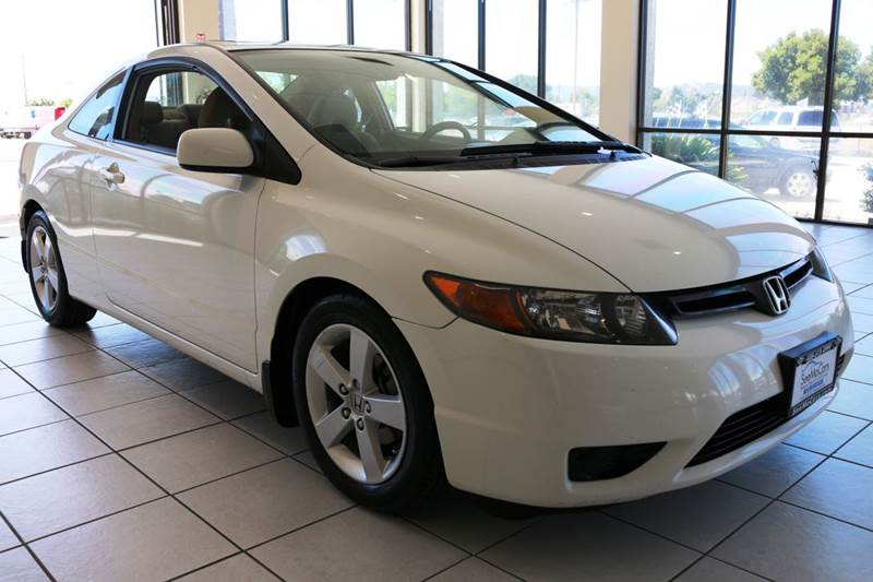 2008 HONDA CIVIC EX 2DR COUPE 5A white this 2008 honda civic ex is extremely clean and ready to