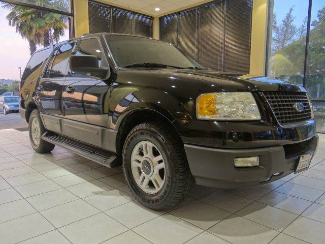 2003 FORD EXPEDITION XLT 4DR SUV black abs - 4-wheel adjustable pedals - power anti-theft syste