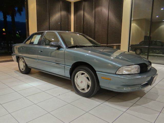 1996 OLDSMOBILE ACHIEVA SL 4DR SEDAN blue abs - 4-wheel center console clock exterior entry li