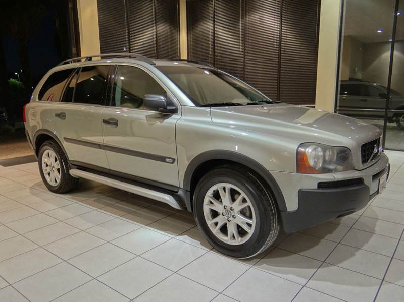 2004 VOLVO XC90 T6 AWD 4DR TURBO SUV silver abs - 4-wheel anti-theft system - alarm cd changer