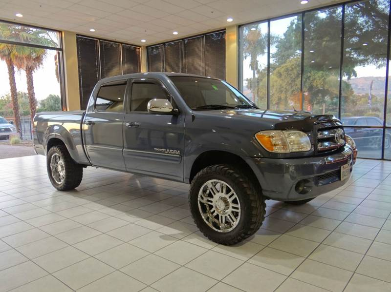 2006 TOYOTA TUNDRA SR5 4DR DOUBLE CAB SB 47L V8 5 blue abs - 4-wheel antenna type auxiliary t