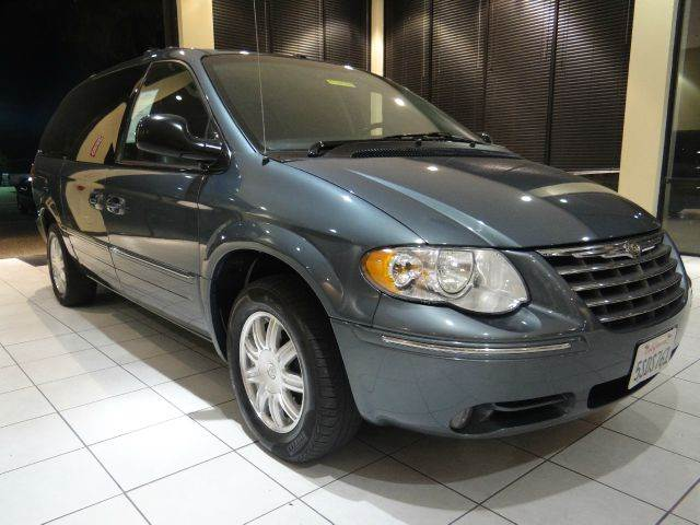 2006 CHRYSLER TOWN AND COUNTRY TOURING 4DR EXT MINIVAN blue abs - 4-wheel airbag deactivation -