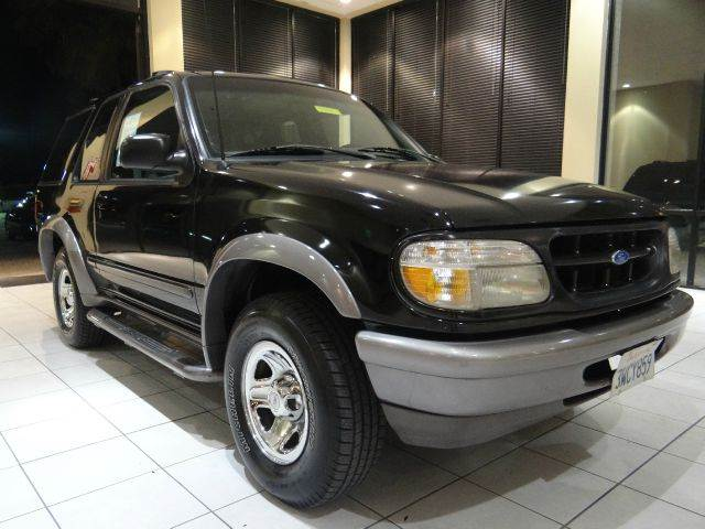 1997 FORD EXPLORER SPORT 2DR SUV black abs - 4-wheel cruise control exterior entry lights exte