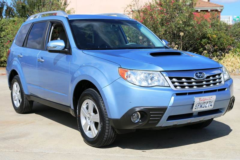 2011 SUBARU FORESTER 25XT TOURING AWD 4DR WAGON blue this beautiful subaru forester xt is in grea