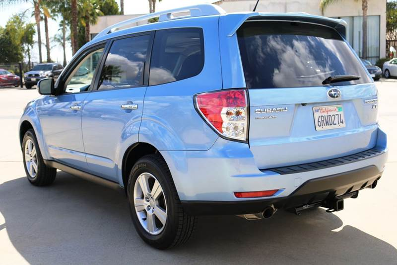 2011 SUBARU FORESTER 25XT TOURING AWD 4DR WAGON blue 2-stage unlocking doors 4wd type - full tim