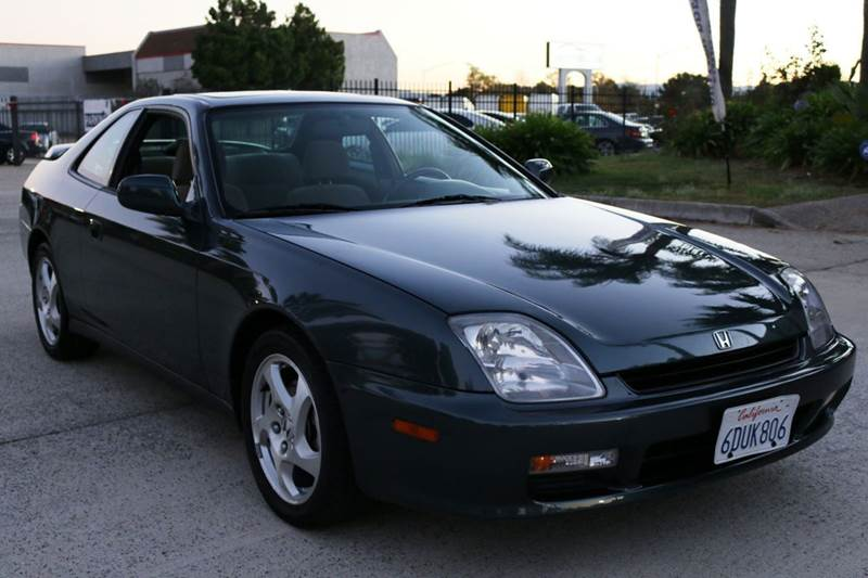 1997 HONDA PRELUDE BASE 2DR COUPE green abs - 4-wheel anti-theft system - alarm clock cruise c