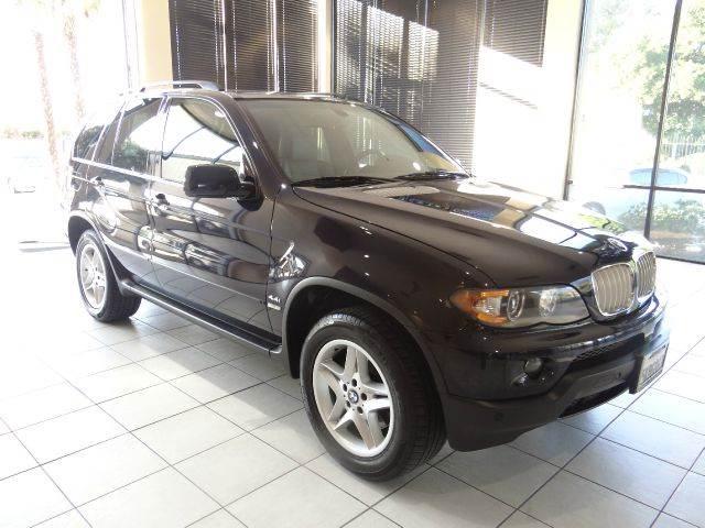 2004 BMW X5 44I AWD 4DR SUV black abs - 4-wheel air suspension - rear anti-theft system - alar