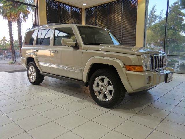 2008 JEEP COMMANDER OVERLAND 4X2 SUV silver 2-stage unlocking - remote abs - 4-wheel adjustable