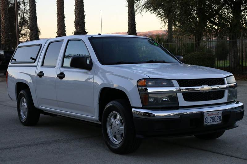 2007 CHEVROLET COLORADO LT 4DR CREW CAB SB white 2-stage unlocking doors abs - 4-wheel airbag d
