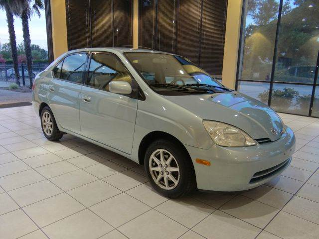 2003 TOYOTA PRIUS BASE 4DR SEDAN blue abs - 4-wheel anti-theft system - alarm cassette center