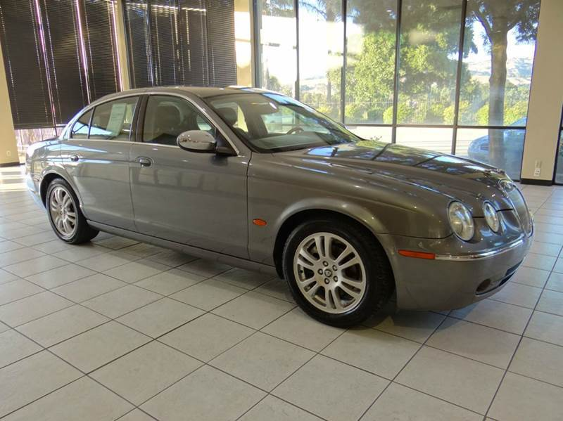 2005 JAGUAR S-TYPE 30 4DR SEDAN gray abs - 4-wheel anti-theft system - alarm center console -
