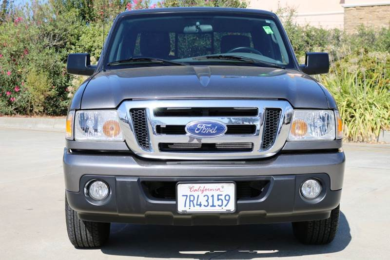 2010 FORD RANGER XLT 4X2 2DR SUPERCAB SB gray 2-stage unlocking doors abs - 4-wheel airbag deac