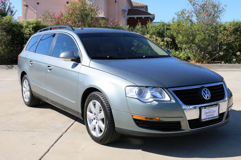 2007 VOLKSWAGEN PASSAT 20T 4DR WAGON 2L I4 6A green 2-stage unlocking doors abs - 4-wheel ac