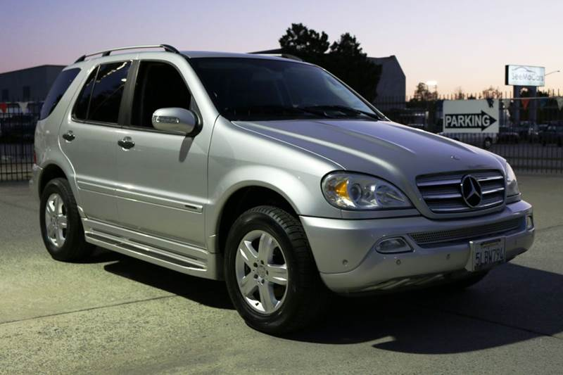 2005 MERCEDES-BENZ M-CLASS ML350 AWD 4MATIC 4DR SUV silver 2005 mercedes benz ml350 awd with low