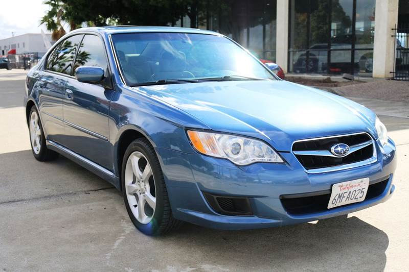 2009 SUBARU LEGACY 25I SPECIAL EDITION AWD 4DR SED blue 2-stage unlocking doors 4wd type - full
