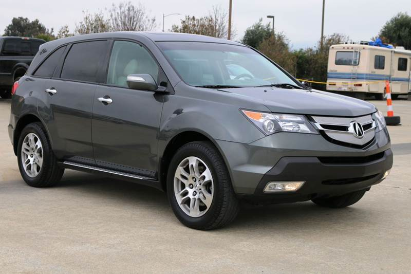2007 ACURA MDX SH-AWD WTECH 4DR SUV WTECHNOLO gray 2-stage unlocking doors 4wd type - full time