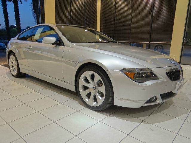 2006 BMW 6 SERIES 650I 2DR COUPE silver abs - 4-wheel active suspension air filtration antenna