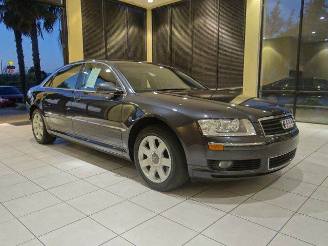 2004 AUDI A8 L QUATTRO AWD 4DR SEDAN black abs - 4-wheel air suspension anti-theft system - ala
