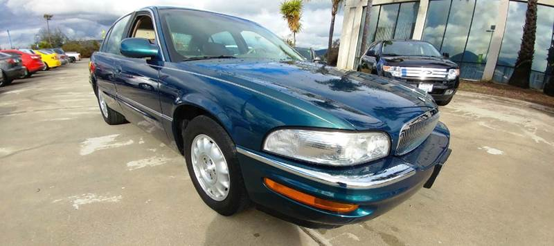 1997 BUICK PARK AVENUE BASE 4DR SEDAN green this 1997 buick park avenue with only 83k miles is go