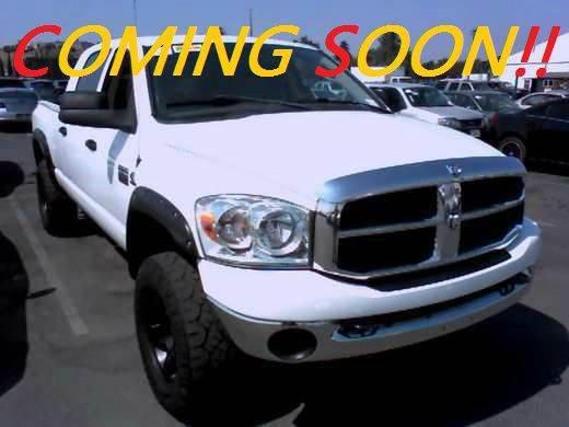 2008 DODGE RAM PICKUP 2500 SXT 4DR MEGA CAB 4WD SB white 2-stage unlocking doors 4wd selector -