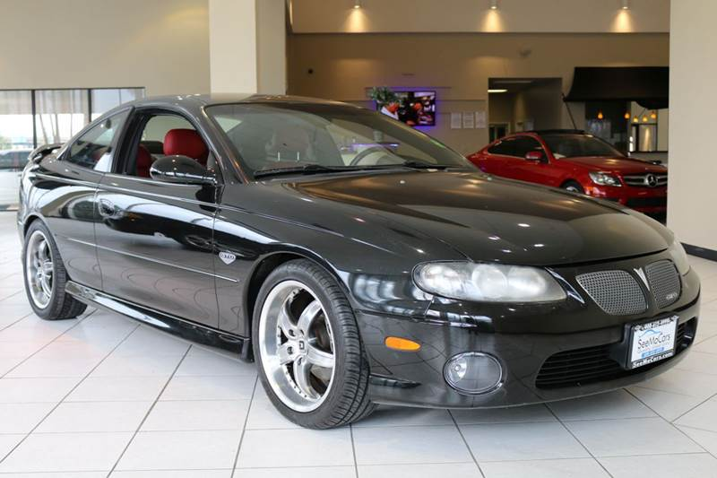 2004 PONTIAC GTO BASE 2DR COUPE black 6-speed manual transmission abs - 4-wheel anti-theft syst