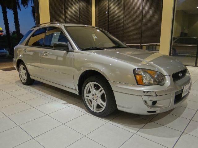 2005 SUBARU IMPREZA 25 RS AWD 4DR SPORT WAGON grey abs - 4-wheel center console - front console