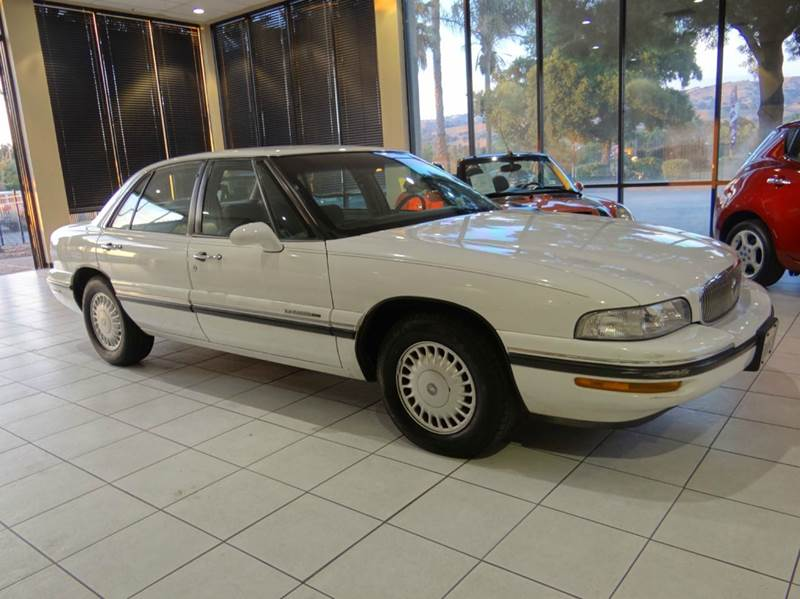 1997 BUICK LESABRE CUSTOM 4DR SEDAN white abs - 4-wheel daytime running lights exterior entry l