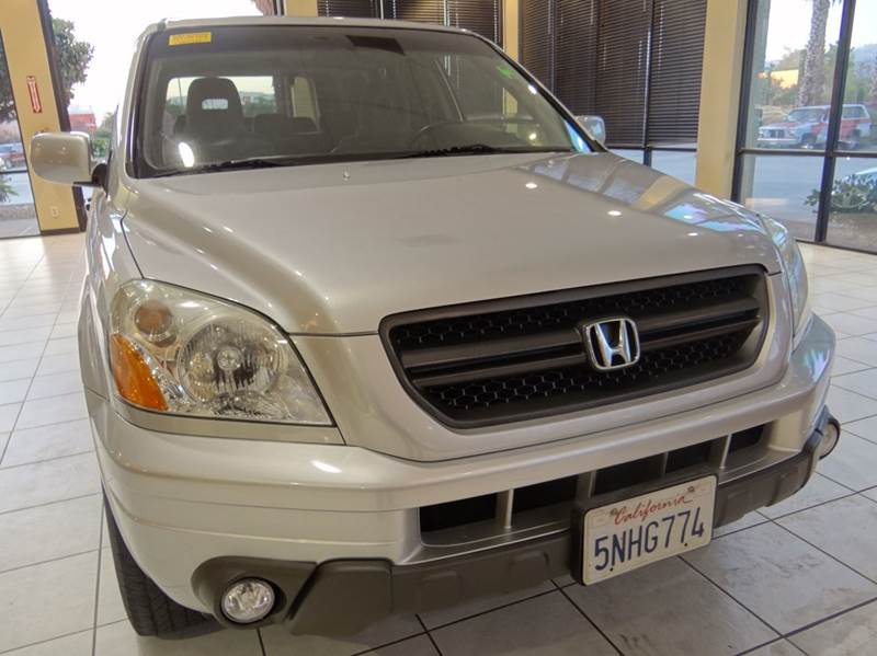 2005 HONDA PILOT EX 4WD 4DR SUV silver 4wd type - on demand abs - 4-wheel anti-theft system - a