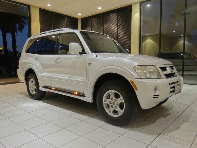 2003 MITSUBISHI MONTERO 20TH ANNIVERSARY EDITION 4WD 4DR white axle ratio - 430 131594 miles