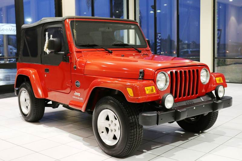 2005 JEEP WRANGLER X 2DR 4WD SUV red this 2005 jeep wrangler with 97k miles is in beautiful condi