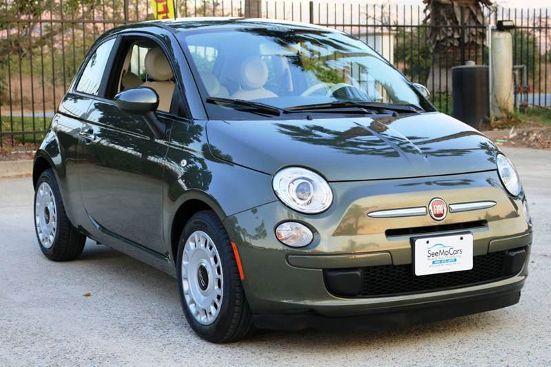 2013 FIAT 500 POP 2DR HATCHBACK green this 2013 fiat 500 is sure to deliver you a super fun drive