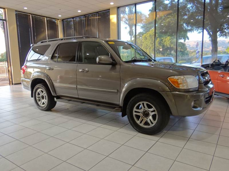 2006 TOYOTA SEQUOIA LIMITED 4DR SUV silver abs - 4-wheel airbag deactivation - occupant sensing