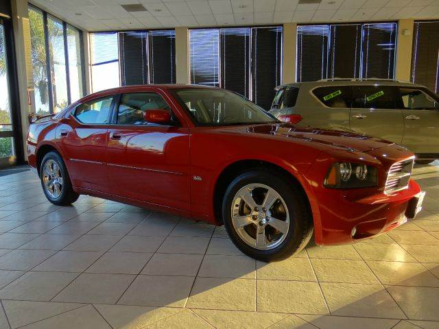 2010 DODGE CHARGER RALLYE 4DR SEDAN red 2-stage unlocking - remote abs - 4-wheel adjustable ped