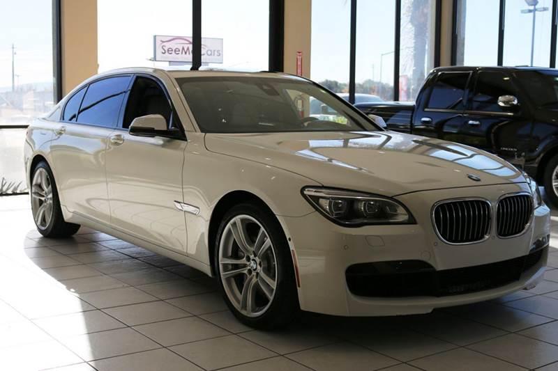 2013 BMW 7 SERIES 750LI 4DR SEDAN white 2-stage unlocking doors abs - 4-wheel active head restra