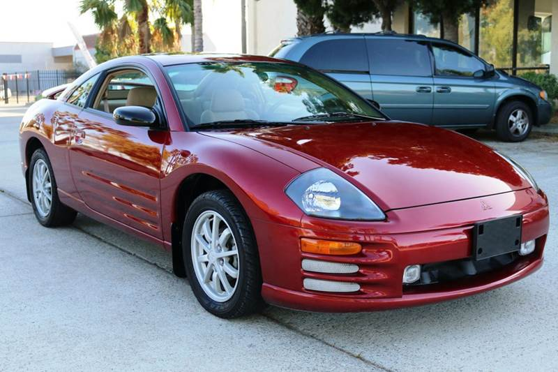 2000 MITSUBISHI ECLIPSE GS 2DR HATCHBACK red this low mileage 2000 mitsubishi eclipse is in amaz